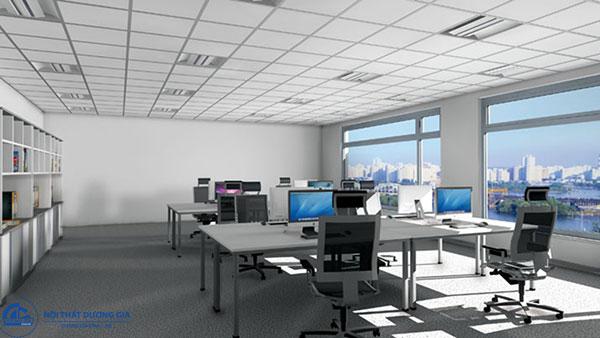 Thiết kế văn phòng 30m2 - mẫu 2