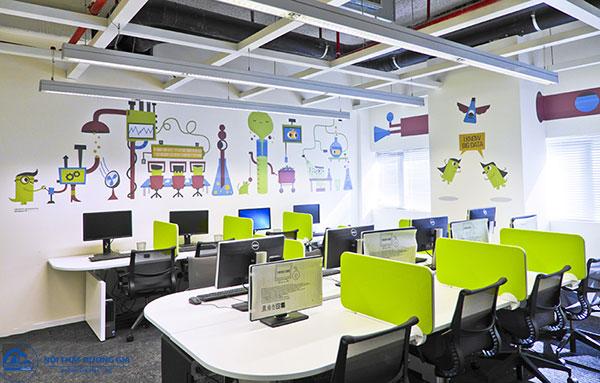 Thiết kế văn phòng 30m2 - mẫu 5