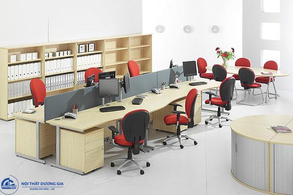 Thiết kế văn phòng làm việc diện tích nhỏ đẹp - Mẫu 4