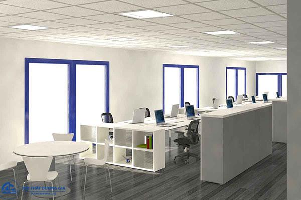 Thiết kế văn phòng nhỏ đẹp - Mẫu 1
