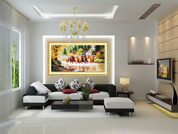Mẫu tranh nội thất hiện đại giá rẻ