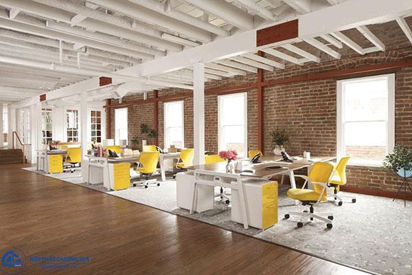 Mô hình văn phòng hiện đại theo hướng mở