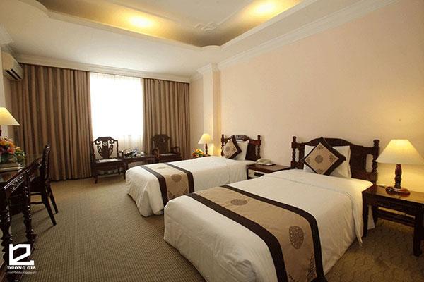 Nội thất phòng ngủ khách sạn 3 sao - mẫu 1