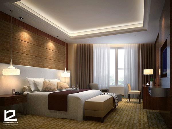 Nội thất phòng ngủ khách sạn 3 sao - mẫu 2