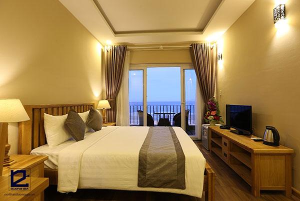 Nội thất phòng ngủ khách sạn 3 sao - mẫu 3
