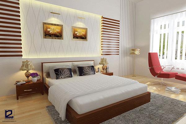 Nội thất phòng ngủ khách sạn 3 sao - mẫu 5