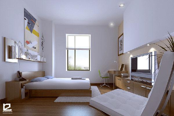 Nội thất phòng ngủ khách sạn đẹp - Mẫu 2
