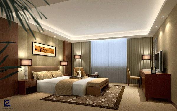 Nội thất phòng ngủ khách sạn đẹp - Mẫu 3