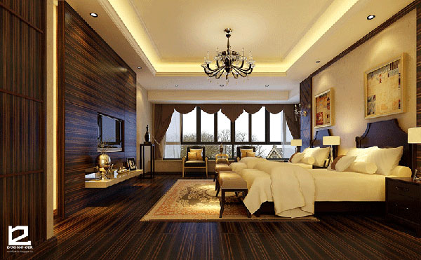 Nội thất phòng ngủ khách sạn đẹp - Mẫu 5