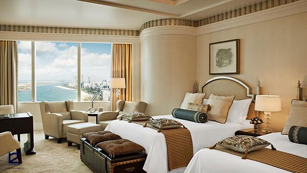 Nội thất phòng ngủ khách sạn đẹp - Mẫu 6
