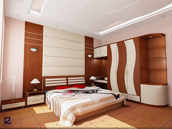 Nội thất phòng ngủ khách sạn đẹp - Mẫu 1