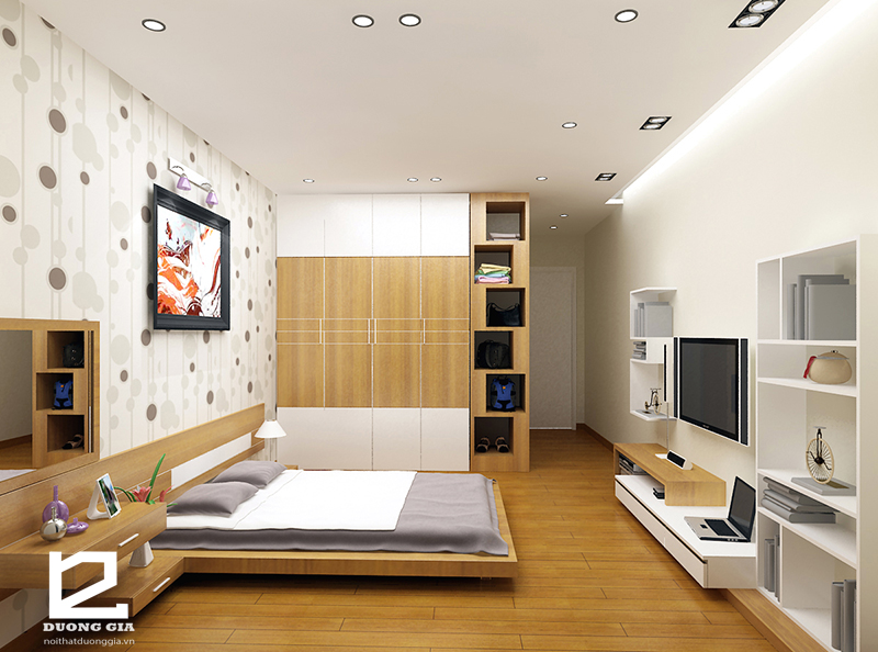 3 lưu ý quan trọng khi thiết kế phòng ngủ chung cư diện tích nhỏ