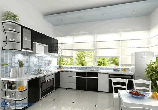 Tấm Compact HPL làm tủ bếp đẹp, hiện đại