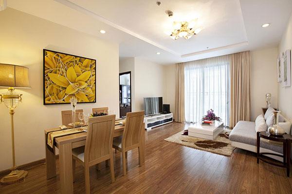 Thiết kế nhà chung cư đẹp 60m2 - Mẫu 2