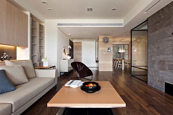 Thiết kế nội thất căn hộ chung cư 70m2 - Mẫu 2