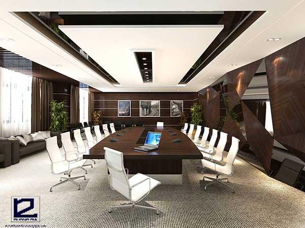 Thiết kế nội thất văn phòng cao cấp mang lại không gian sang trọng, đăng cấp.