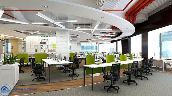 Thiết kế phòng làm việc công sở - mẫu 5
