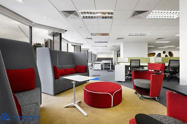 Văn phòng hiện đại vừa là nơi làm việc vừa là nơi thư giãn, nghỉ ngơi của nhân viên