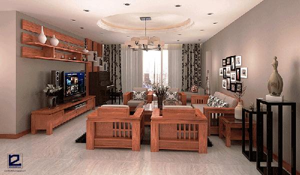 Vật liệu gỗ trong nội thất có độ bền cao