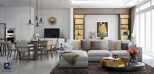 Xu hướng nội thất hiện đại - Màu sắc gần gũi, ấm cúng