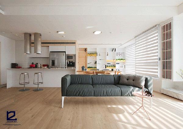 Xu hướng nội thất hiện đại - Nội thất tối giản