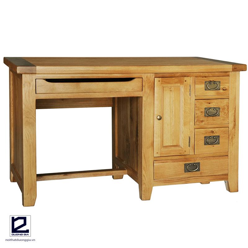 Báo giá bàn làm việc gỗ sồi Hà Nội rẻ nhất