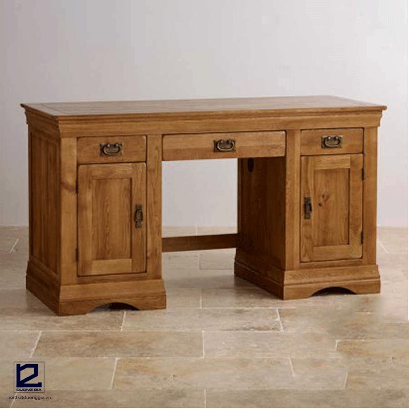 Giá bàn làm việc gỗ sồi phụ thuộc vào chất lượng