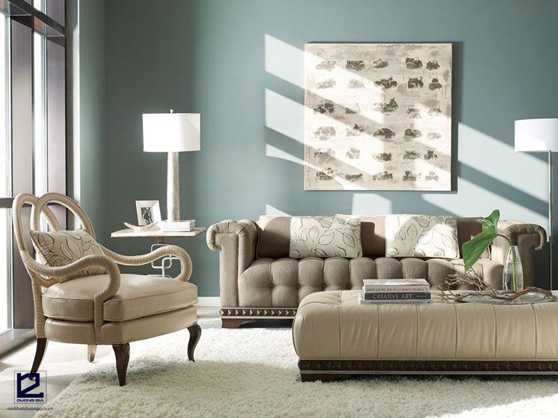 Bàn ghế phòng khách tân cổ điển mẫu DG-KTC003