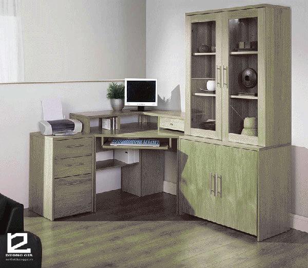 Bàn vi tính gỗ tự nhiên cực đẹp DG-MT002