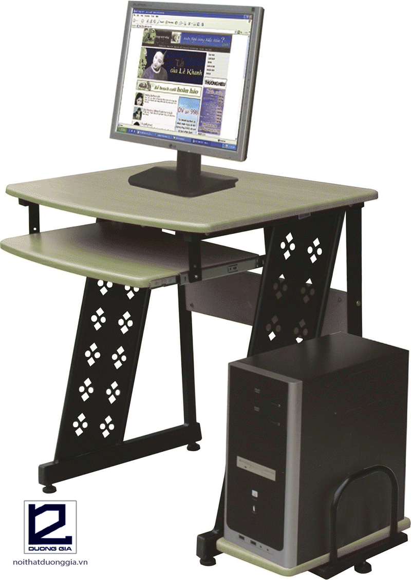 Bàn máy tính khung sắt BMT11