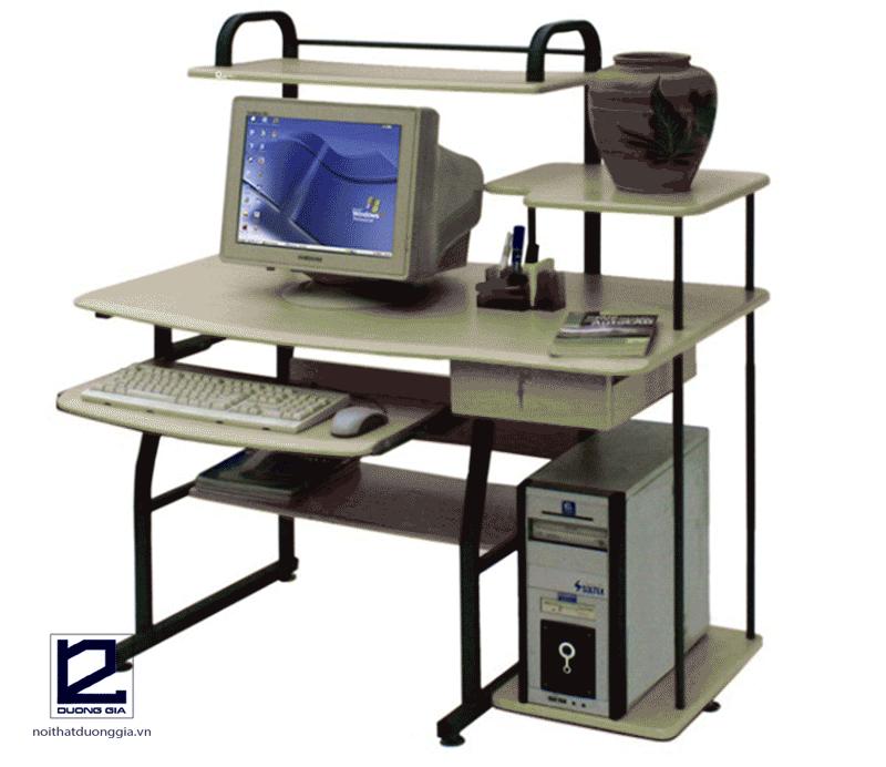 Bàn máy tính khung sắt BMT19H