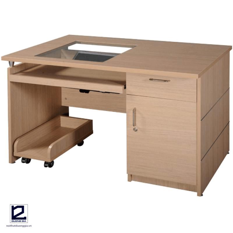 Bàn vi tính gỗ công nghiệp HRM120