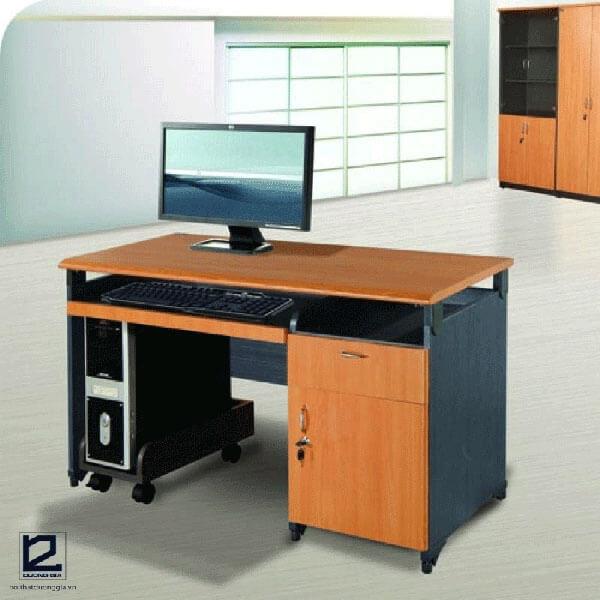 Mẫu bàn máy tính gỗ công nghiệp đẹp nhất NTM120S