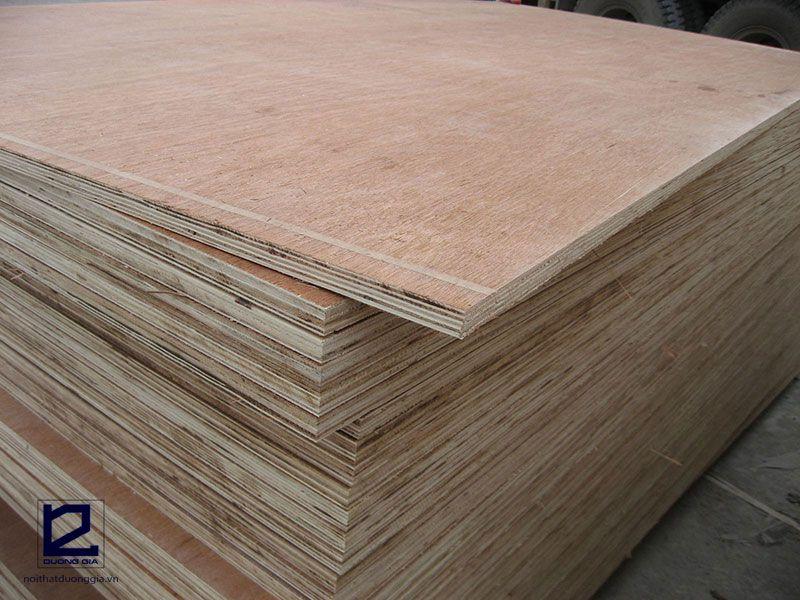 Các loại gỗ công nghiệp dùng trong nội thất - gỗ HDF