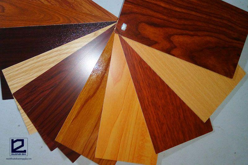 Các loại gỗ công nghiệp dùng trong nội thất - gỗ MDF