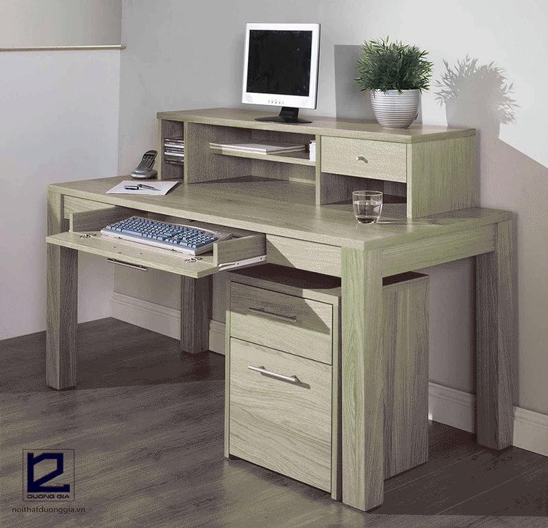 Các mẫu bàn máy tính gỗ đẹp