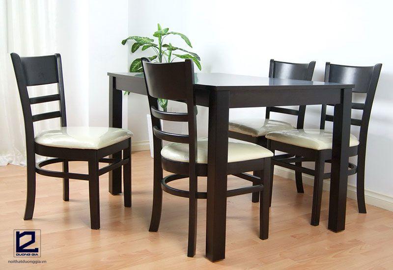 Mẫu bàn ghế nhà hàng giá rẻ DG-NH001