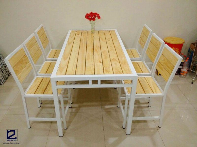 Mẫu bàn ghế nhà hànggiá rẻDG-NH002