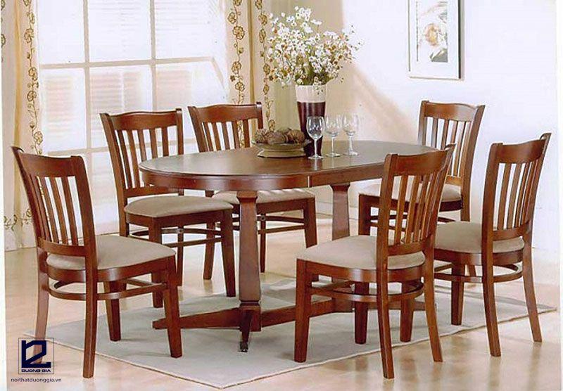 Mẫu bàn ghế nhà hàng giá rẻ DG-NH004