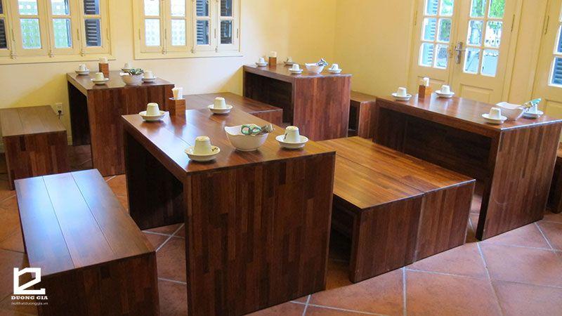 Mẫu bàn ghế nhà hàng giá rẻ DG-NH005