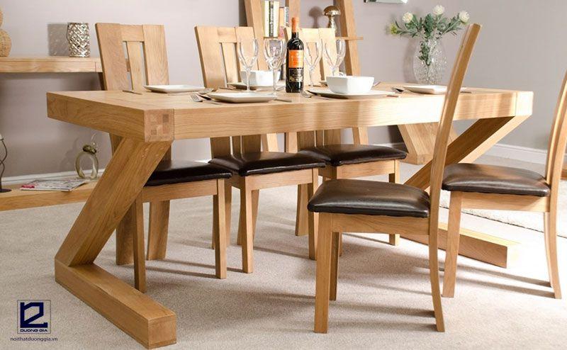 Mẫu bàn ghế nhà hàng giá rẻ, đẹp