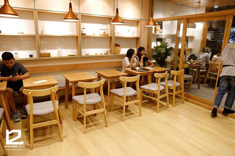 Mẫu bàn ghế trà sữa DG-TS002