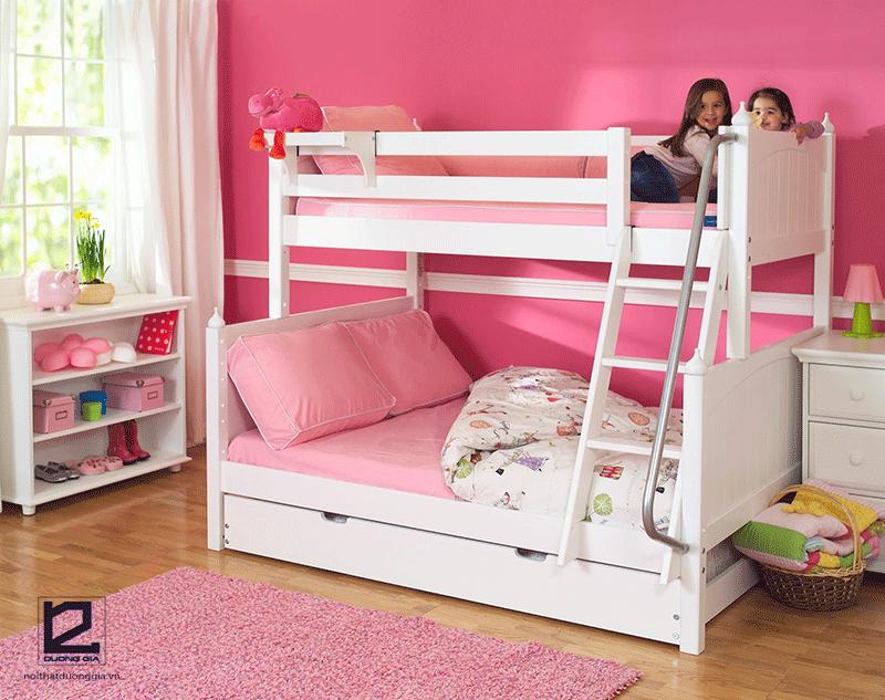Mẫu giường tầng cho bé gái DG-GK002