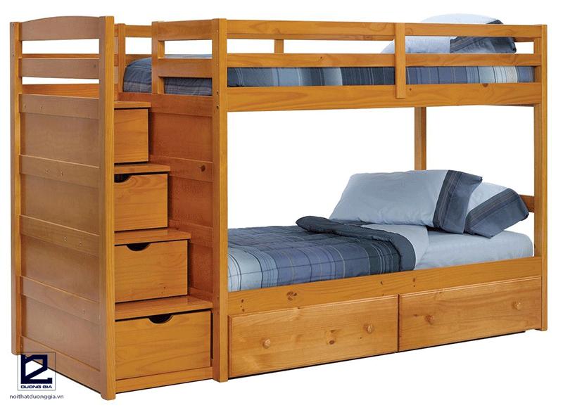 DG-BK001 -Một trong 10 mẫu giường tầng hiện đại dành cho bé trai với thiết kế đa năng