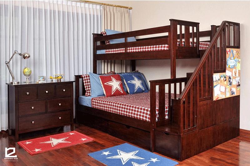 Mẫu giường tầng người lớn DG-G001