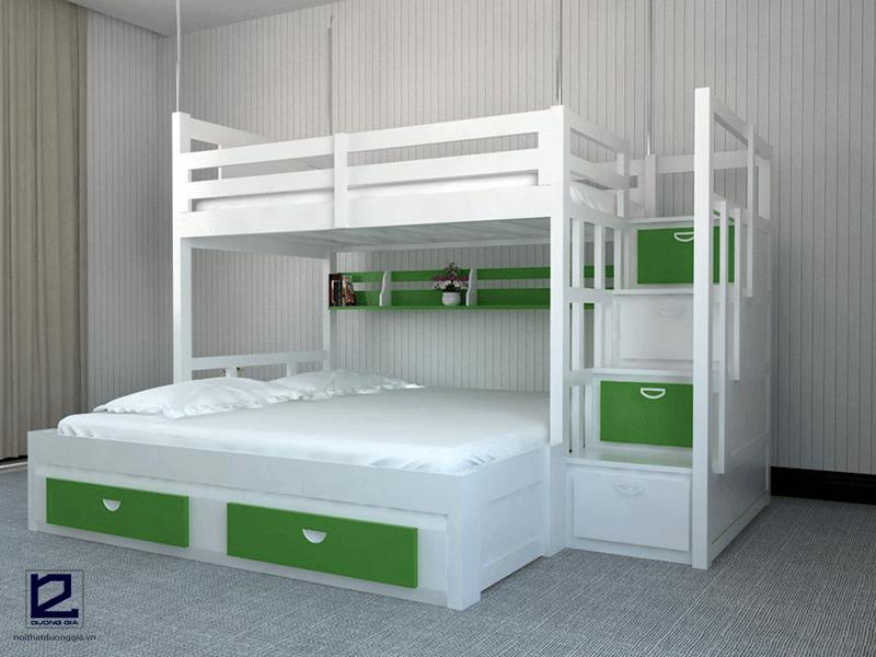 Mẫu giường tầng người lớn 1m6 DG-G003