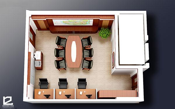 Thiết kế nội thất văn phòng làm việc đẹpVP-DG19