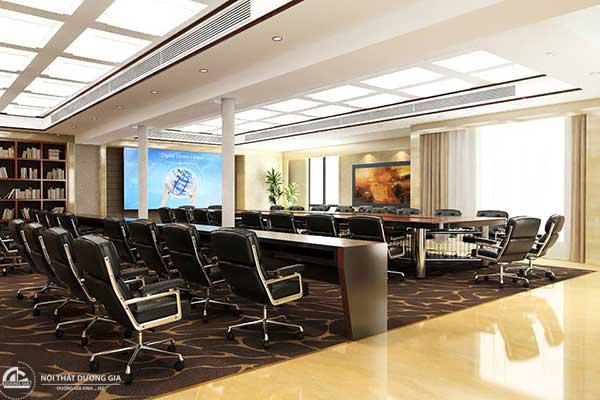 Thiết kế phòng họp đẹp 2018