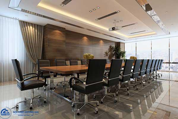 Bàn ghế họp đều là những sản phẩm mang phong cách hiện đại