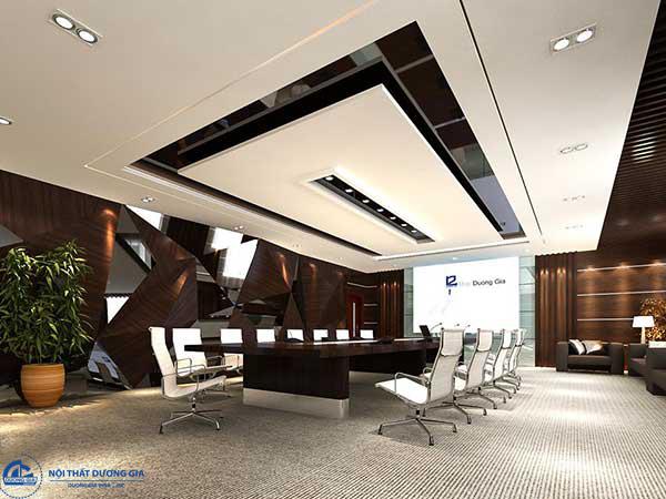 TOP 4 mẫu thiết kế phòng họp đẹp nhất 2018 của Nội thất Dương Gia